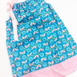 Chic Birdie Pillowcase Dress Size 4-5